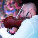 Violinist at the havana jazz festival