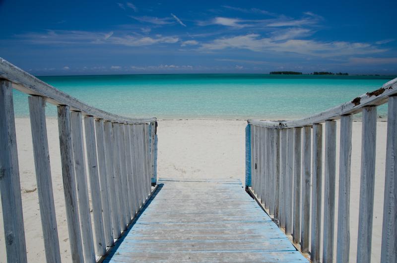 To the beach Trinidad